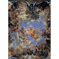 Ceiling Fresco with Medici Coat of Arms