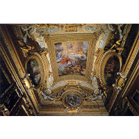 Ceiling Fresco in the Hall of Saturn