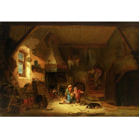 Interior with Children