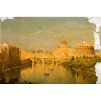Rome, the Bridge of Sant'Angelo
