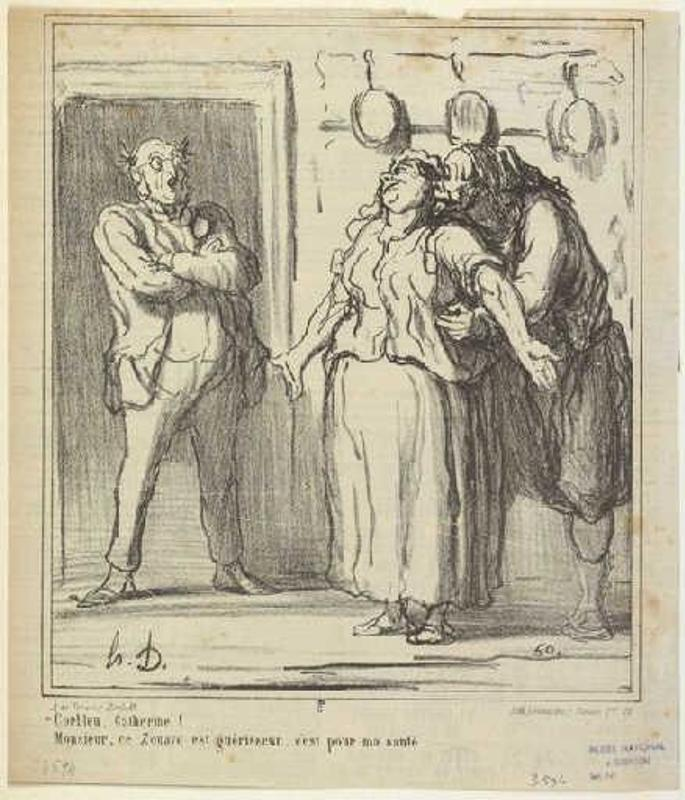 police brutality in rue transnonain a painting by honore daumier 2011-3-3  art history art trivia of the day (2011: january through march) the painting's first owner, the artist claude monet, referred.