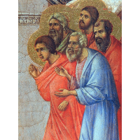 Appearance of Christ to the apostles (Fragment)