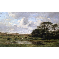 A Landscape with Cows