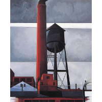 Chimney and Water Tower