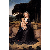 A Rest During the Flight to Egypt