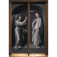 Archangel Gabriel and Virgin Annunciate