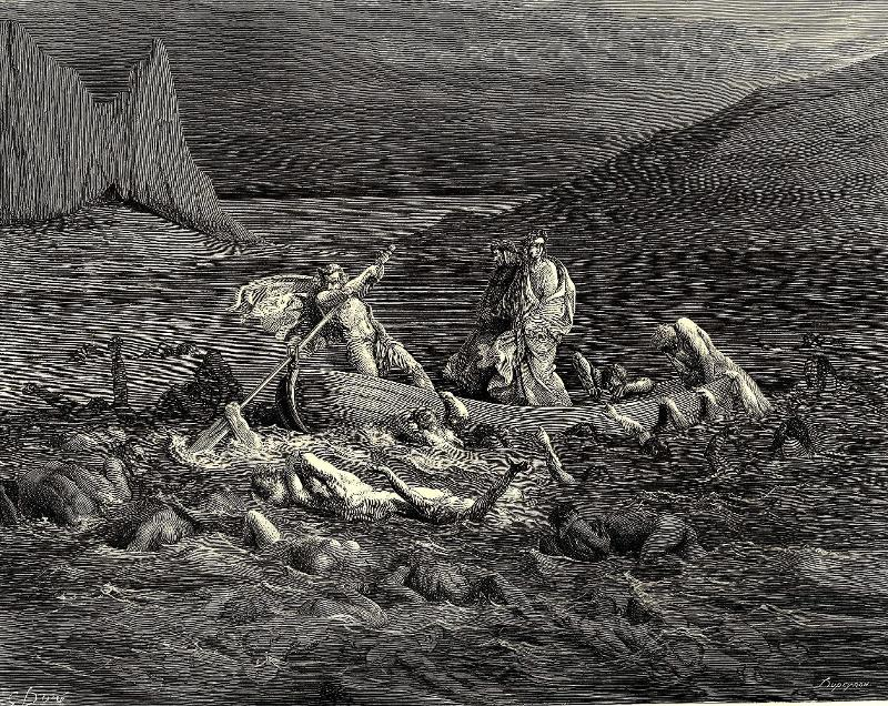 compare between dante s inferno and the book of revelation in views of hell Conditionalism vs eternal torment vs universal and the extra-biblical imagery from dante's inferno that they might be added to the lamb's book of.
