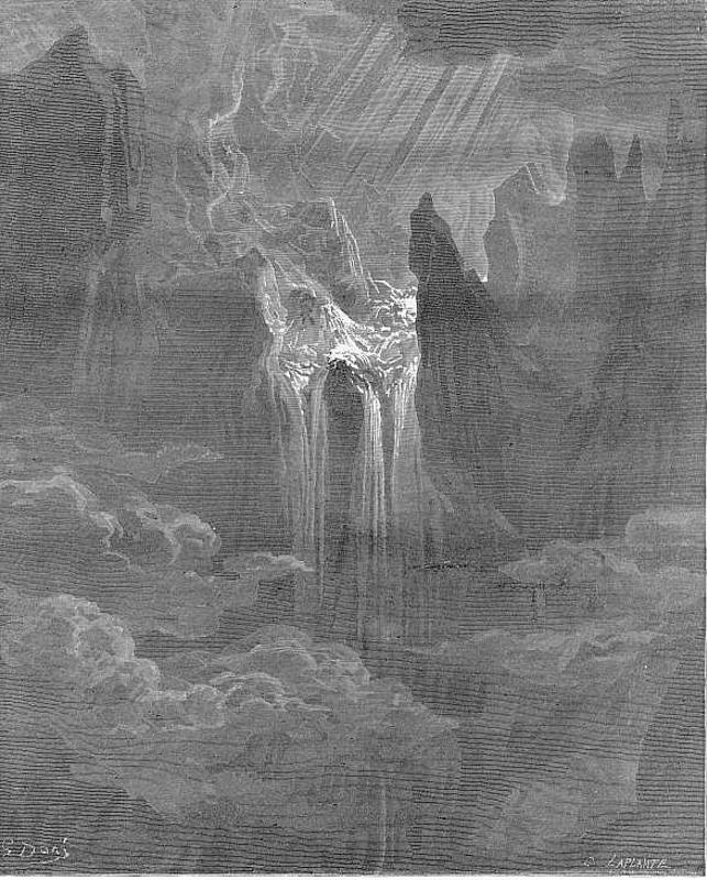 dantes inferno vs miltons paradise lost Inferno (pronounced [iɱ'fɛrno] italian for hell) is the first part of dante alighieri's 14th-century epic poem divine comedy it is followed by purgatorio and paradiso.