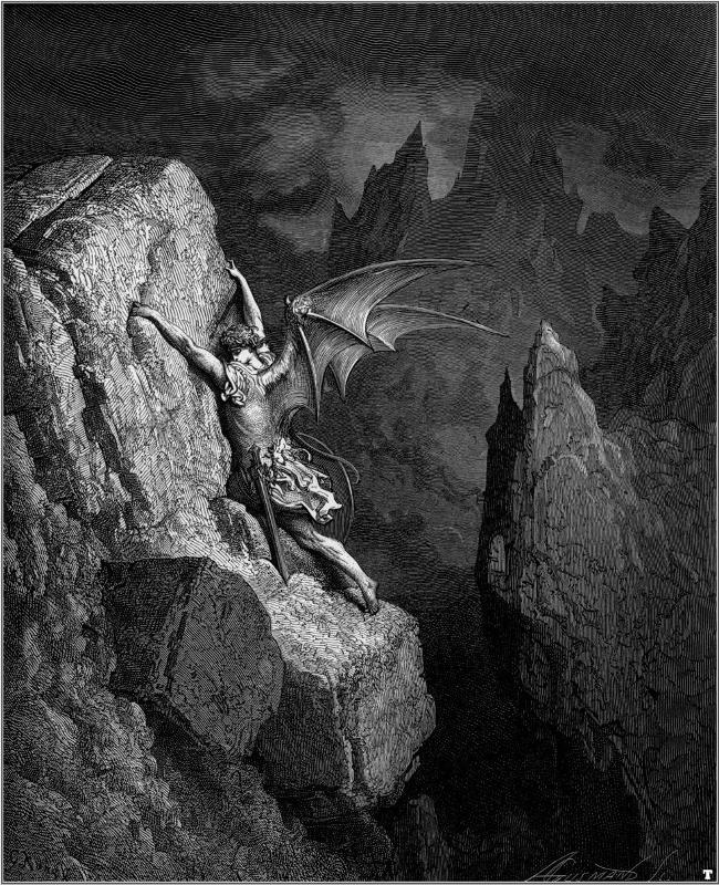 satan as the hero of paradise lost by john milton