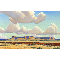 Wide Lands of the Navajo