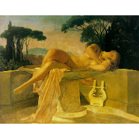 Girl in a Basin