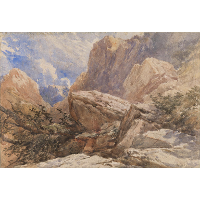 A Mountain Landscape
