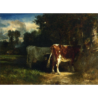 Cows in a Landscape