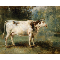 A Cow in a Landscape