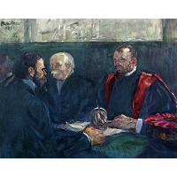 An Examination at the Faculty of Medicine, Paris