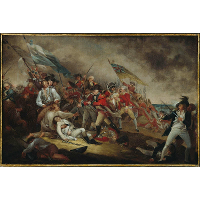 The Death of General Warren at the Battle of Bunker's Hill, June 17, 1775