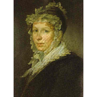 Portrait of A. I. Tropinina, the Artist`s Wife
