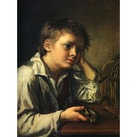 Boy with a Dead Goldfinch
