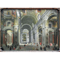 Interior of St. Peter's, Rome