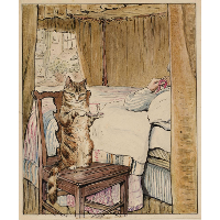 Simpkin at the Tailor's Bedside