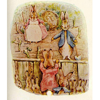 Peter Rabbit - Benjamin and Flopsy Bunny