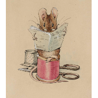 Frontispiece. The Tailor Mouse