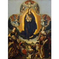 The Virgin Mary in Glory