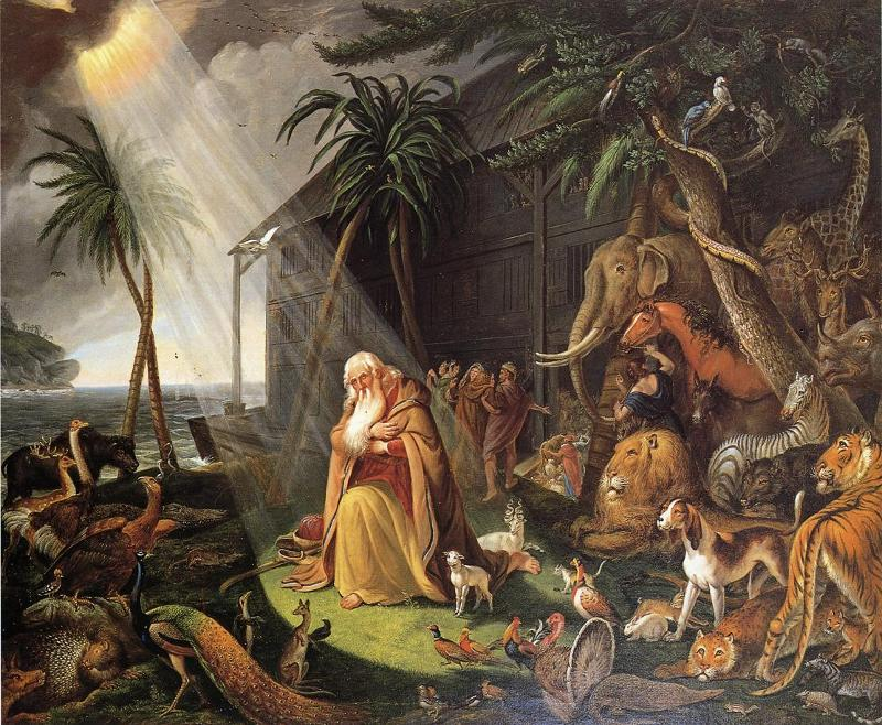 the theme of a flood in the epic of gilgamesh and noah and the flood