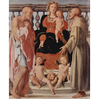 Madonna with St. Francis and St. Jerome