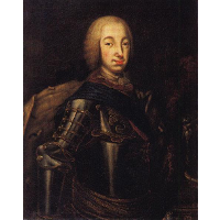Portrait of Grand Duke Peter Fedotovich (later Peter III),