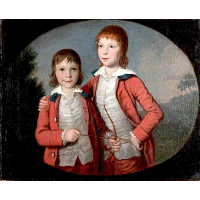 Portrait of Two Boys