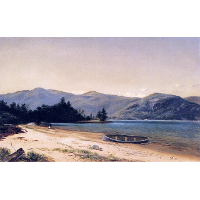 Study of Nature, Dresden, Lake George