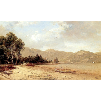 View of Dresden, Lake George