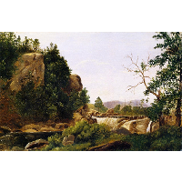The Distant Waterfall