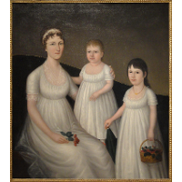 Grace Allison McCurdy and Her Daughters