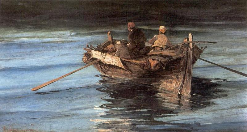 рыбная ловля в средние века