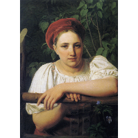 A Peasant girl from Tver