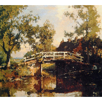 Bridge Near Estate Linschoten