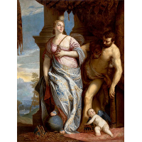 Allegory of Wisdom and Strength( The Choice of Hercules or Hercules and Omphale)