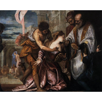 The Martyrdom and Last Communion of Saint Lucy
