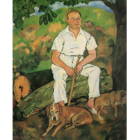 Andre Utter and His Dogs
