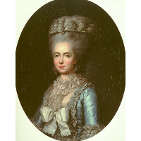 Portrait of Princess Marie Adélaïde of France, called Madame Adelaide