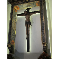 Chapel of the Crucifix, the Cross of Baccio da Montelupo