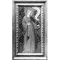 St. Agnes (wing of a diptych)