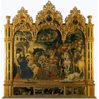 Adoration of the Magi, from the Strozzi Chapel in Santa Trinita, Florence