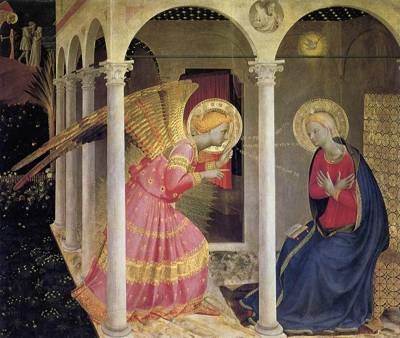 an analysis of the annunciation in the book of luke The annunciation exegetical study luke 1:26–38 note: viewing greek & hebrew fonts luke 1:26 now in the sixth month the angel gabriel was sent [avpesta,lh] from god [avpo tou/.