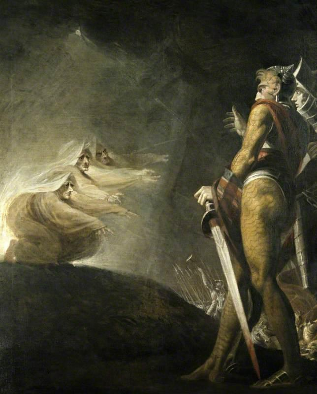 the role of power in the murders in william shakespeares macbeth