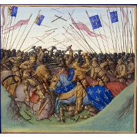 Battle of Fontenoy-en-Puisaye in 841
