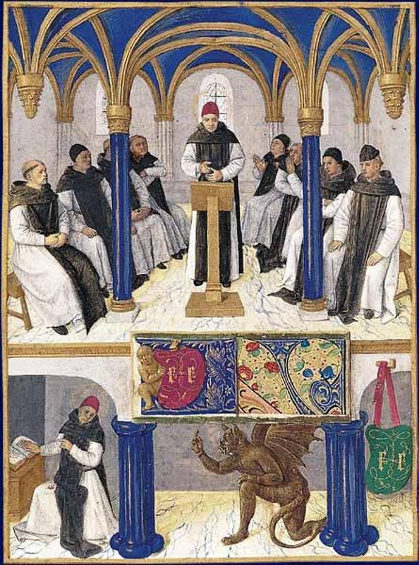 Jean fouquet: taken in tours in 1189 - reproduction oil painting