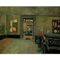 A Room (in the Second Post-Impressionist)